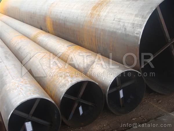 DIN 1630 ST52.4 SEAMLESS STEEL TUBE