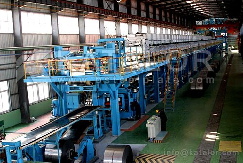 Katalor Steel Aluminized Processing Services