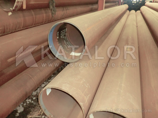 ASTM A106 Gr.C seamless steel pipe/tube