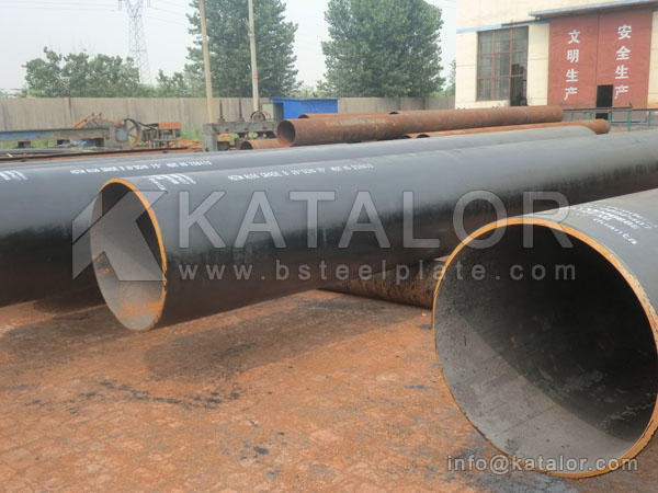 JIS G3444 STK490 steel tube/pipe