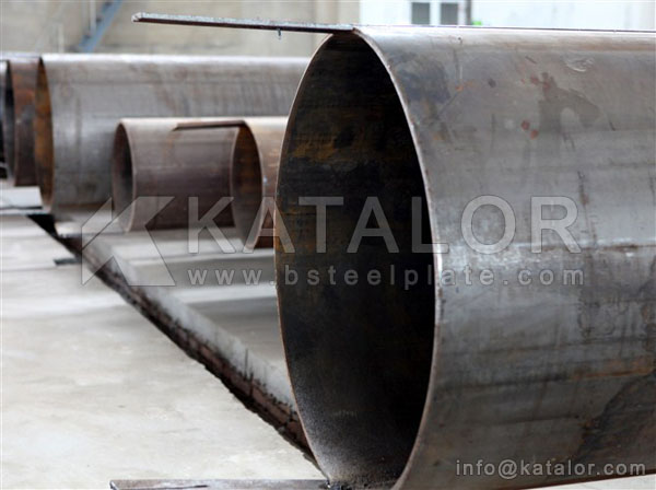 JIS G3455 STS480 high pressure carbon steel tubes/pipes for piping purpose