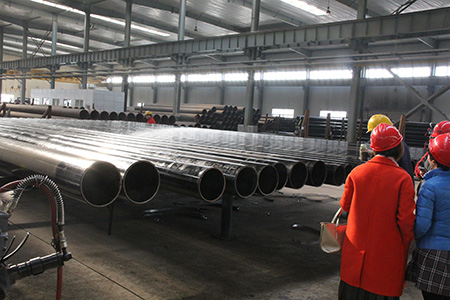 Advantages of high frequency welded pipe